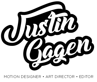 Justin Gagen - Mograph, Art Direction, Editing